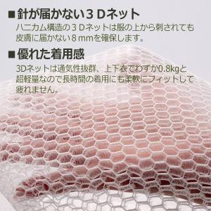 蜂防護インナー ハチ・ガードウェア 5HGW-M1 Mサイズ スズメバチ 蜂 防護服|midorianzen-com|03