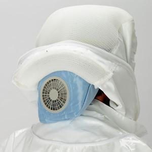 アンチホーネット フード用 空調ファン 蜂の巣駆除 スズメバチ防護服 ハチ|midorianzen-com