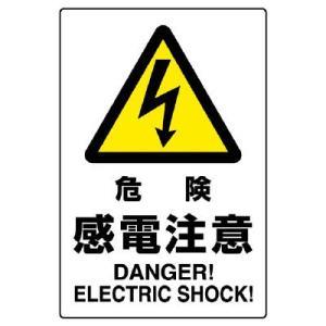 ユニット JIS規格標識 802-501 危険感電注意|midorianzen-com