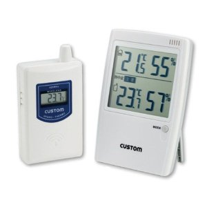 熱中症予防強化月間 熱中対策 熱中症警告無線温湿度モニター HO-234 熱中 温湿度計 卓上 壁 デジタル 現場|midorianzen-com