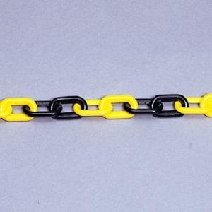 ユニット プラスチック チェーン 871-16 黄 / 黒 1.5m|midorianzen-com