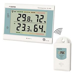 熱中症予防強化月間 ミドリ安全 最高最低無線温湿度計 SK-300R 現場|midorianzen-com