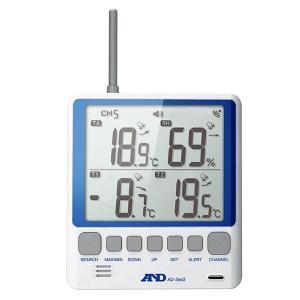 熱中症予防強化月間 熱中対策 マルチチャンネル温湿度計 AD-5663 熱中 温湿度計 デジタル 現場|midorianzen-com