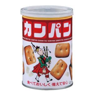 非常食 缶入りカンパン 100GX24缶入 乾パン 缶詰 備蓄用 保存食 災害用 現場|midorianzen-com