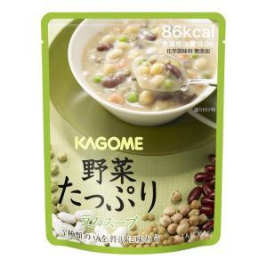 カゴメ 野菜たっぷりスープ 豆のスープ 160gX30袋 防災用品 保存食 現場|midorianzen-com