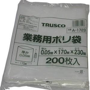 TRUSCO トラスコ中山 業務用ポリ袋(200枚入)50 A1723 8539|midorianzen-com