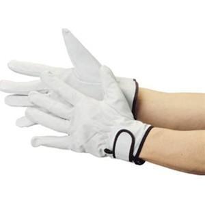 TRUSCO トラスコ中山 マジック式手袋豚本革製 JK717 8539|midorianzen-com