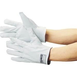 TRUSCO トラスコ中山 袖なし革手袋クレスト牛革製白 TYKKW 8539|midorianzen-com