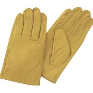 TRUSCO トラスコ中山 袖なし革手袋クレスト牛革製黄 TYKKY 8539|midorianzen-com