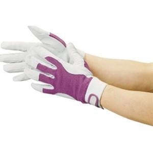 TRUSCO トラスコ中山 豚革甲メリヤスマジック止め式手袋M TYK129M 8539|midorianzen-com