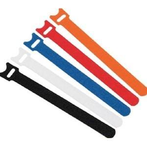 TRUSCO トラスコ中山 マジックバンド超薄型 ストラップ 白 15cm 5本入り MKSH191...