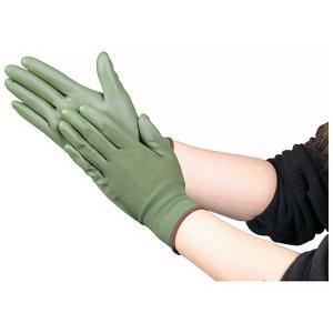 TRUSCO トラスコ中山 ウレタン薄手手袋 S〜Lサイズ OD色 TUGODM 8539 midorianzen-com