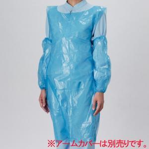 カラーエプロン OA501 ブルー L 200枚×5ロール入|midorianzen-com