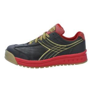 DIADORA ディアドラ 安全作業靴 ピーコック ブラック&ブラック DIADORA スニーカー ...