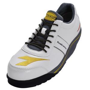 ディアドラ安全靴 ロードランナー ホワイト RR-11 DIADORA ROADRUNNER スニーカー ローカット 作業靴 かっこいい|midorianzen-com