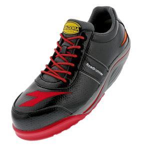 ディアドラ安全靴 ロードランナー ブラック RR-22 DIADORA ROADRUNNER スニーカー ローカット 作業靴 かっこいい|midorianzen-com