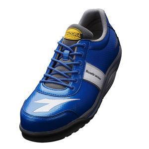 ディアドラ安全靴 ロードランナー RR-44 ブルー DIADORA ROADRUNNER スニーカー ローカット 作業靴 かっこいい|midorianzen-com