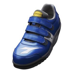 ディアドラ安全靴 レイル RA-44 ブルー DIADORA RAIL スニーカー ローカット 作業靴 かっこいい|midorianzen-com