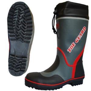 ミドリ安全 先芯入セーフティブーツ デサフィオ MPB-5000N グレイ TOE GUARD 安全靴 長靴 作業用 現場 ゴム長|midorianzen-com
