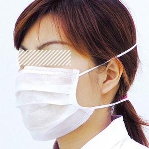 ミドリ安全 ミドリクリーンマスク K-114 頭掛け 100枚×1箱 個人向け ウイルス対策 花粉対策 midorianzen-com