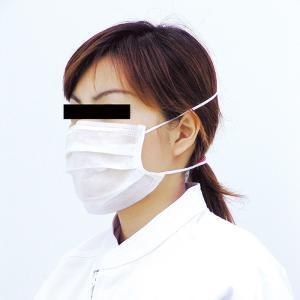 ミドリクリーンマスク K-214 オーバーヘッド式(2枚重ね)100枚入り 個人向け ウイルス対策 花粉対策 midorianzen-com
