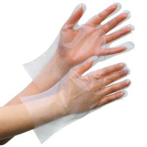 ミドリ安全 外エンボスポリエチレン手袋 ベルテ563C SS〜L 100枚 個人向け クリア midorianzen-com
