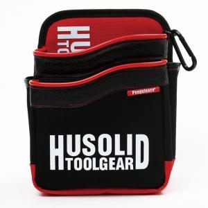 ツールバッグ HUSOLID HT-011 レッド 作業用 道具入れ 現場
