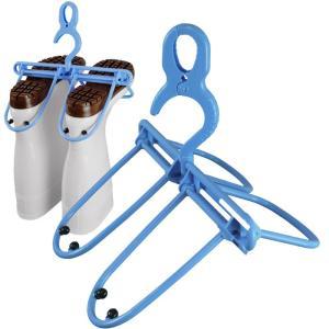 長靴を吊るして干せる 長ぐつハンガー エヌケープロダクツ コンパクト 水切りと乾燥 現場|midorianzen-com