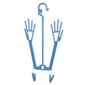 手袋の乾燥や陰干しに 手袋ハンガー エヌケープロダクツ 作業用 洗い場 厨房 ゴム手|midorianzen-com|03