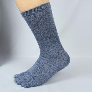 のびのび靴下 5本指 杢 FT-2113 4足組 作業用 軍足|midorianzen-com