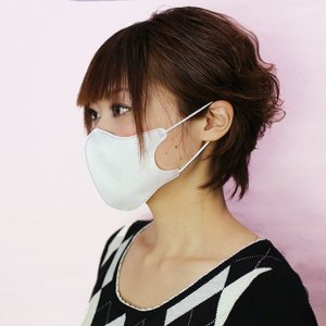 NTC 立体マスク ホワイト (お得用50枚入) 使い捨て 花粉対策 清掃 作業用 midorianzen-com