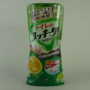 アース製薬 トイレのスッキーリ プレミアムシトラスの香り400ml|midoriya-yshop