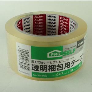 ニトムズ 透明梱包用テープ  No.6030|midoriya-yshop|02
