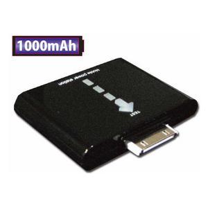 インジゲータ搭載!★iPhone4/3GS/3G対応、iPhone/iPod用バッテリー充電器(dn-BAH-1000E)【大容量1000mA】iPhone3G、3GS/iPod touch、nano(3/4)等!|midoriya