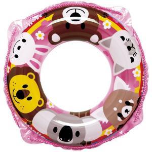 うきわ 浮輪 こども 女の子 男の子 浮き輪 アニマルフレンド ウキワ ピンク 45cm RGS-245V ig-0210m メール便送料無料
