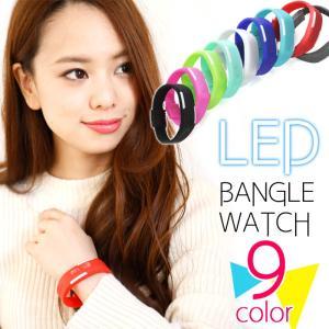 送料無料 腕時計 メンズ レディース デジタル 腕時計 カレンダー LED 光る ラバーベルト スポーツウォッチ (ma-LB01m)