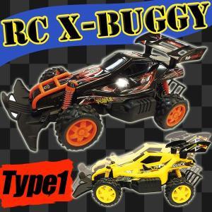 ラジコン 車 ラジコンカー RC バギー X- BUGGY Type1 フルファンクション ミニ四駆 HighSpeed STORONG SONIC WIND NO.BG016 27MHz(pb-4988/4995)