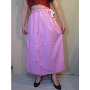 サリー用ペチコート 桃色 インド綿 ムスリム イスラムファッション 民族衣装 ボリウッド ベリーダンス pet025|mifashion