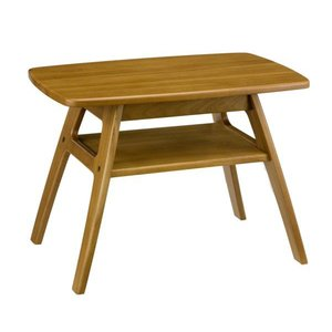 コーヒーテーブル ラルゴ7671 リビングテーブル 重厚感のある木の家具 mifuji