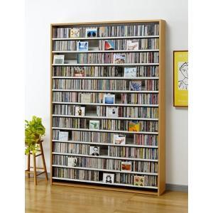 CD 収納 大量 1668枚 CDストッカー 1668 N(ナチュラル) DVD 収納 mifuji