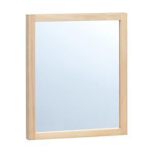 ウォールミラー tinyII wall mirror タイニー2 天然木アルダー材 オイル仕上げ|mifuji