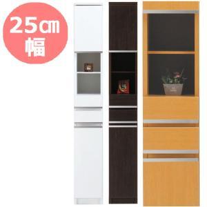 隙間収納 25cm NEWスペースボード 25A ホワイト・メープル・ダーク 25cmのスペースを活用 すきま家具 日本製 完成品|mifuji