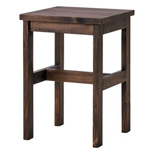 スツール SOME サム 天然木パイン無垢材 VBR ヴィンテージブラウン かわいい 北欧 インテリア 一人暮らし 家具 アンティーク調 リビング 椅子|mifuji