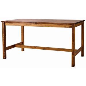 ダイニングテーブル 長方形 135×80 4人用 サム SOME SNL ナチュラル 天然木パイン無垢材 北欧 かわいい アンティーク調 机 リビング モダン|mifuji