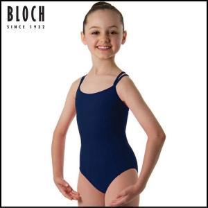 バレエレオタード 子供 BLOCH キャミソールタイプ スカート無し|mignonballet