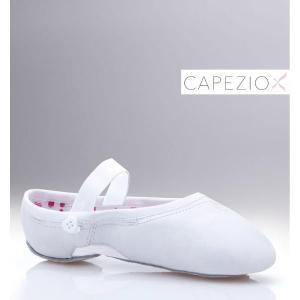 在庫一掃セール バレエ 子供 バレエシューズ (Capezio/カペジオ)本革 特殊ソール レザーバレエシューズ|mignonballet