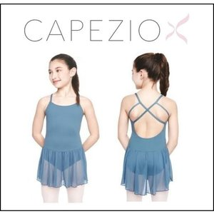 バレエ レオタード 子供 カペジオ スカート付 キャミソールレオタード 2色展開|mignonballet