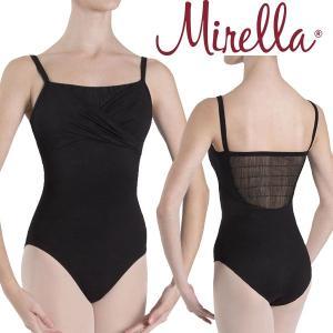 バレエ レオタード 大人 MIRELLA キャミソール 胸元カシュクールデザイン 3色展開 mignonballet