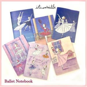 バレエ ノート イツコルベイユ A5サイズ 6種類|mignonballet
