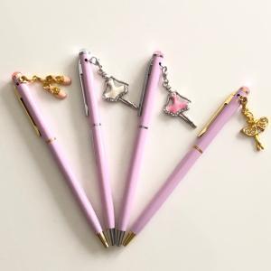 バレエ ボールペン 可愛い ピンク軸|mignonballet